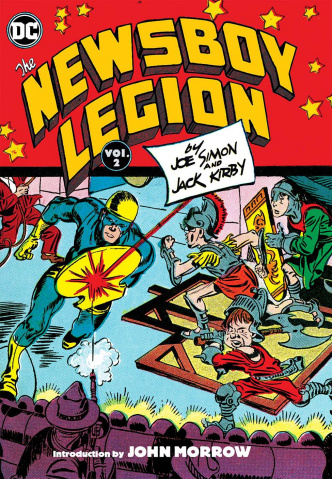 The Newsboy Legion by Simon and Kirby Vol. 2