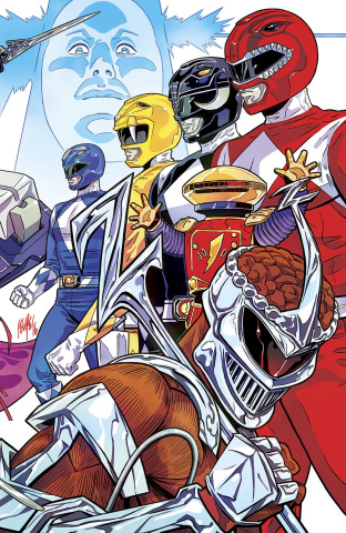 Mighty Morphin' Power Rangers 2016 Annual #1 (NYCC Cover)