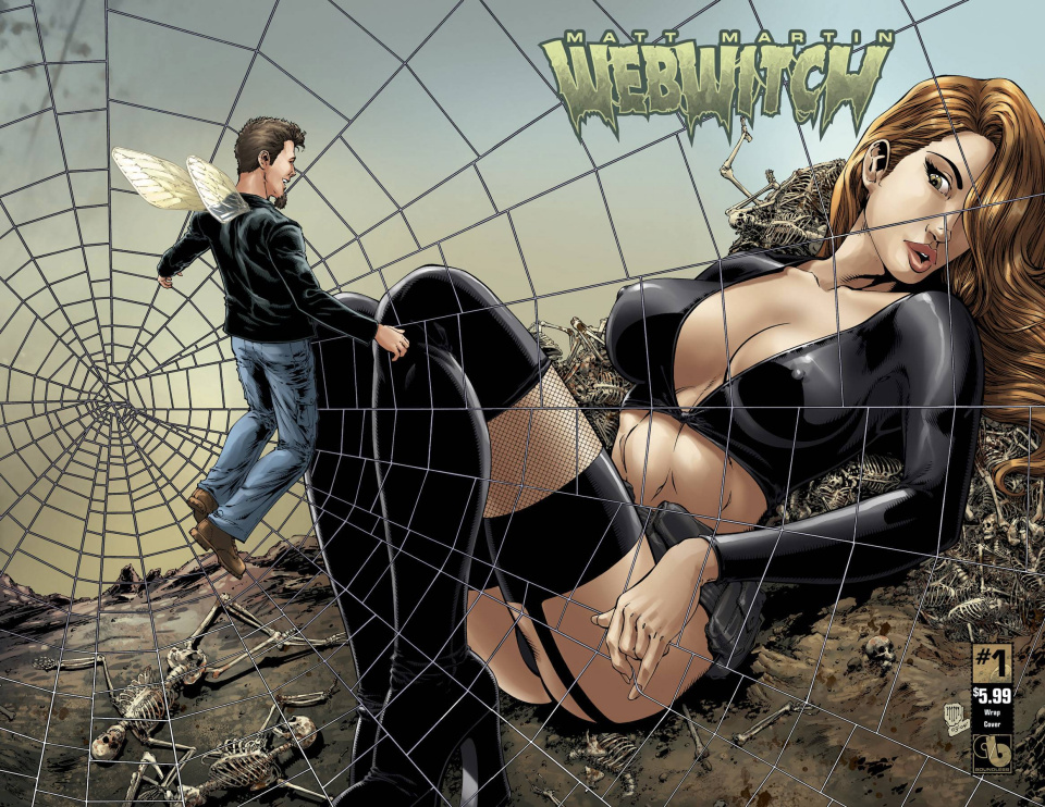 Webwitch #1 (Wrap Cover)