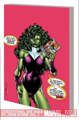 The Sensational She-Hulk by John Byrne Vol. 1