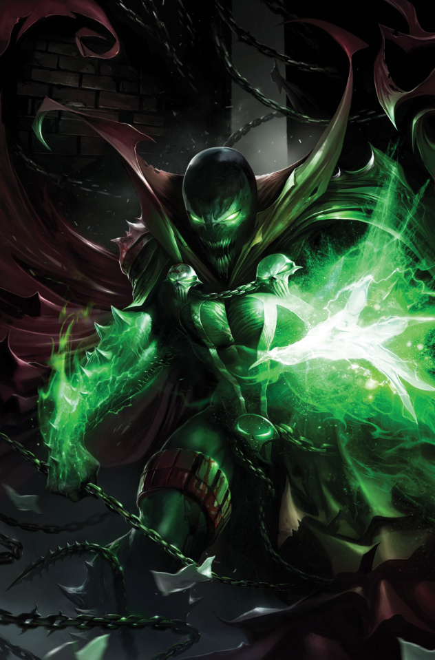 Spawn #290 (Mattina Virgin Cover)
