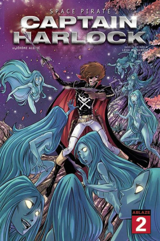 Space Pirate: Captain Harlock #2 (Philippe Briones Cover)