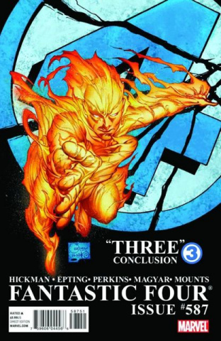 Fantastic Four #587 (2nd Printing)