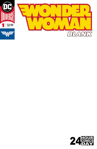 Wonder Woman #1 (Blank Comic)