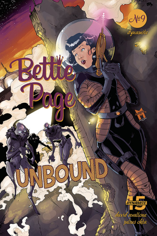 Bettie Page: Unbound #9 (Gaudio Cover)