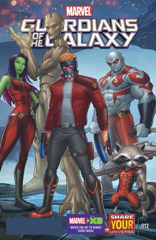 Marvel Universe: Guardians of the Galaxy #12