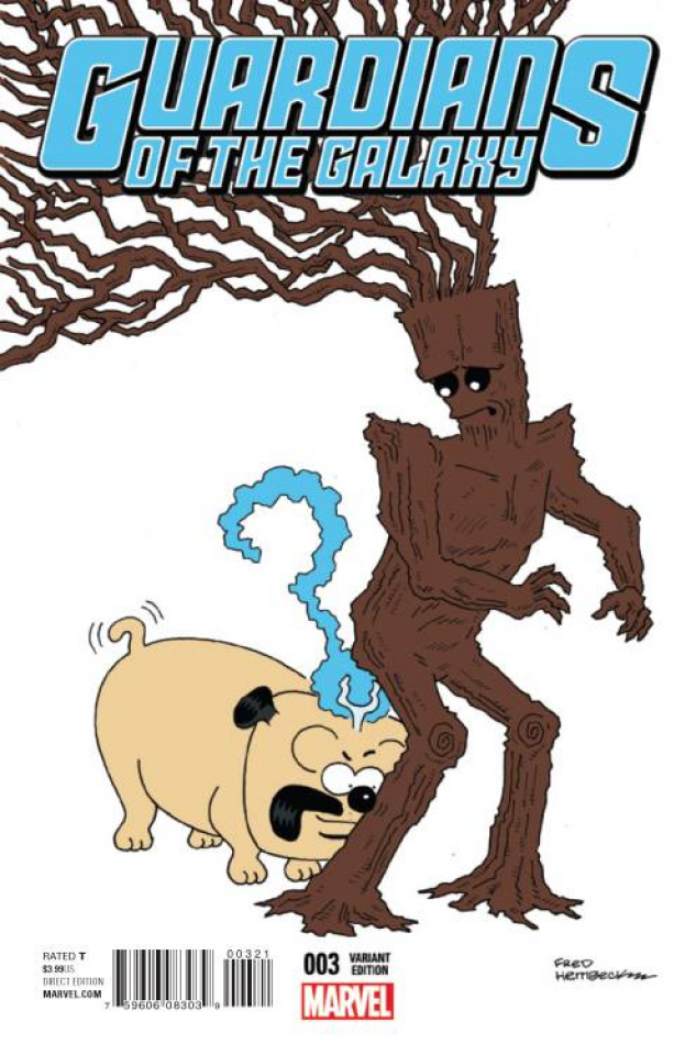Guardians of the Galaxy #3 (Hembeck Cover)