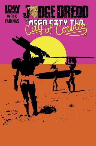 Judge Dredd: Mega-City Two #3 (Subscription Cover)
