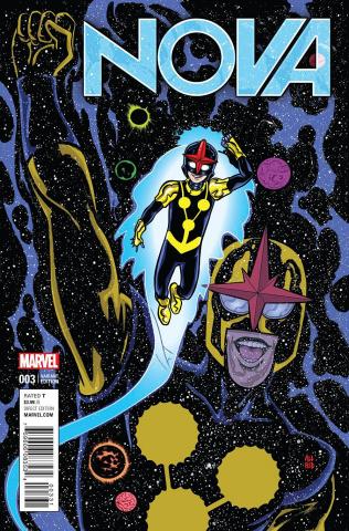 Nova #3 (Allred Cover)