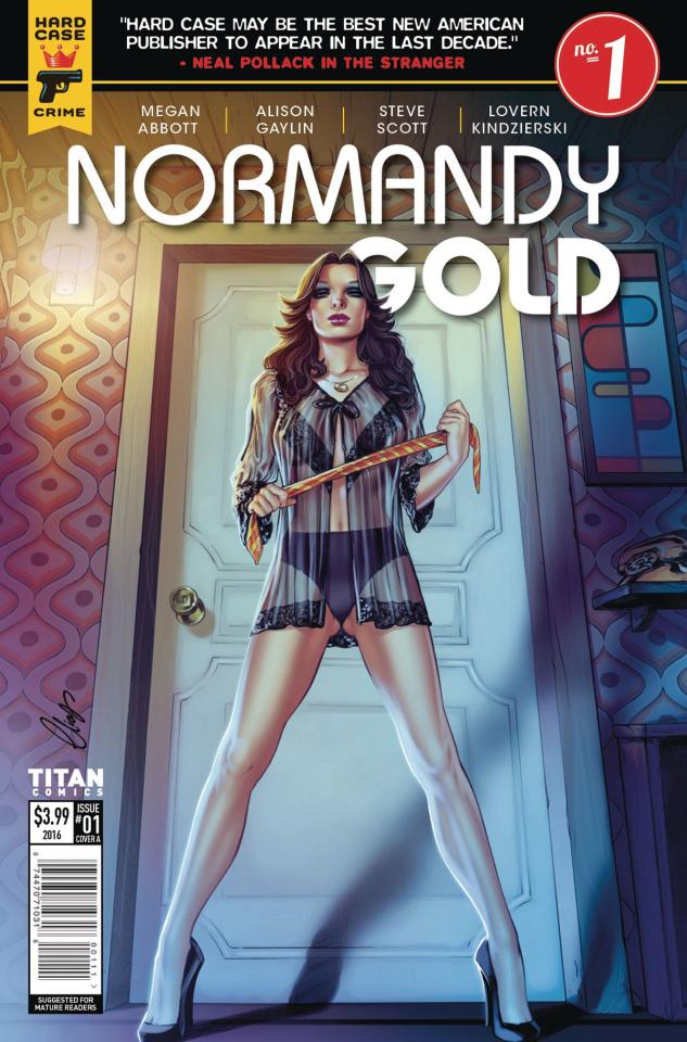 Normandy Gold #1 (Chatzoudis Cover)