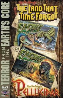 The Land That Time Forgot: From Earth's Core #1 (Parsons 3 Copy Cover)