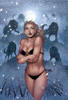 Grimm Fairy Tales: Dark Shaman #1 (Qualano Rare Cover)