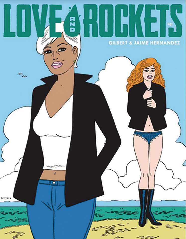 Love and Rockets Magazine #1 (Gilbert Limited Edition Cover)
