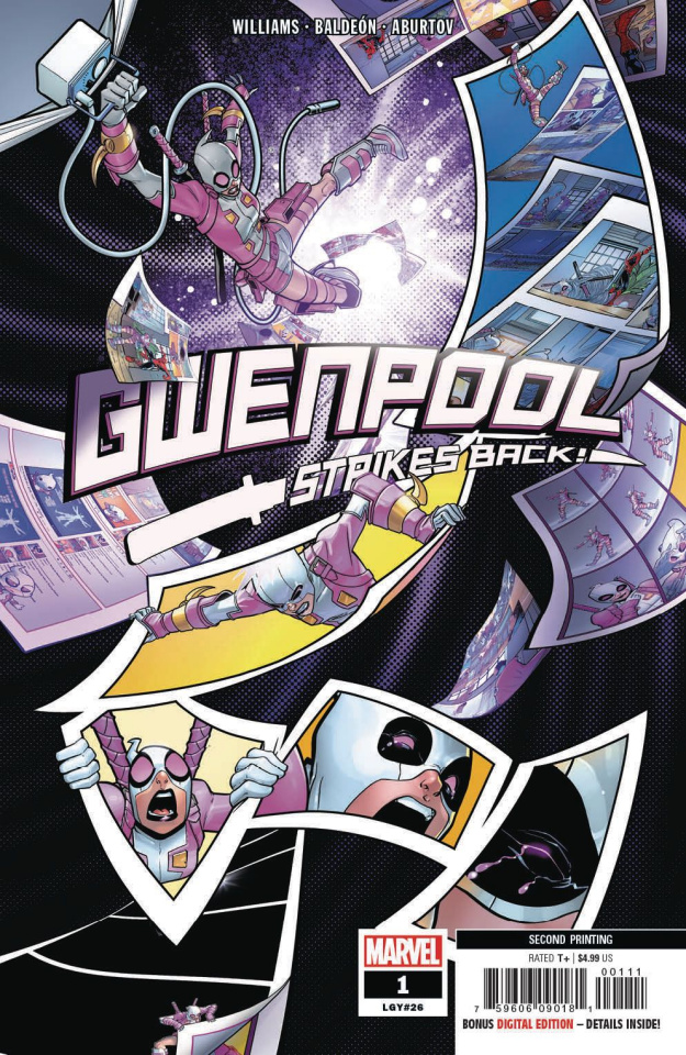 Gwenpool Strikes Back! #1 (Baldeon 2nd Printing)