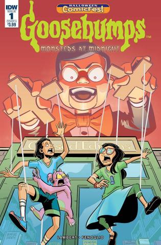 Goosebumps: Monsters at Midnight #1 (Halloween ComicFest 2018)