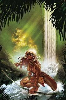 Sheena #1 (10 Copy Moritat Virgin Cover)