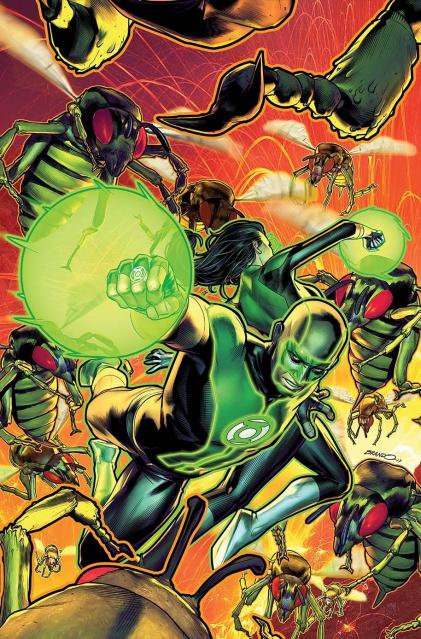 Green Lanterns #27 (Variant Cover)