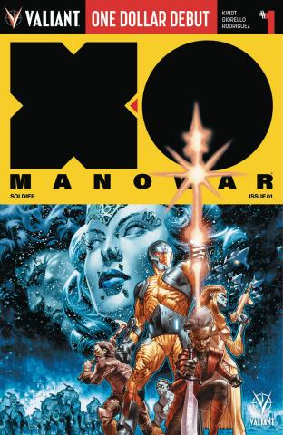 X-O Manowar #1 (Dollar Debut)