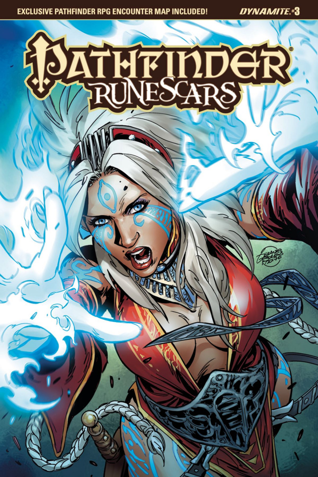 Pathfinder: Runescars #3 (Borges Cover)