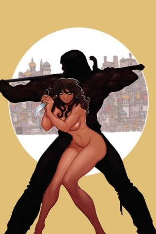 The Cimmerian: The Man-Eaters of Zamboula #1 (20 Copy Moritat Cover)