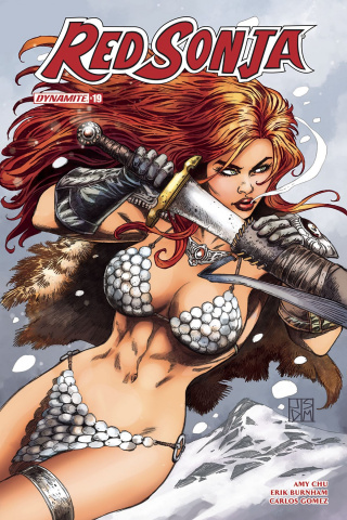 Red Sonja #19 (Duursema Cover)