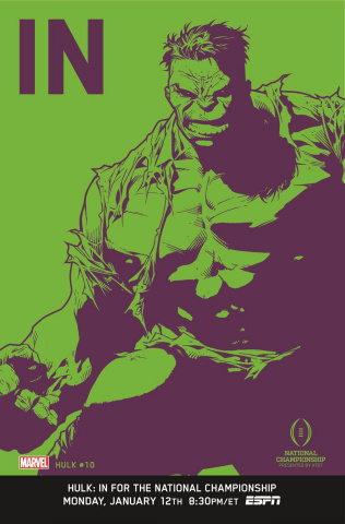 Hulk #10 (IN Cover)