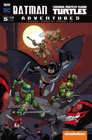 Batman / Teenage Mutant Ninja Turtles Adventures #5 (Subscription Cover)