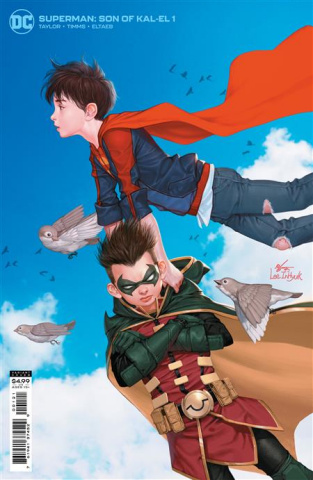Superman: Son of Kal-El #1 (Inhyuk Lee Card Stock Cover)