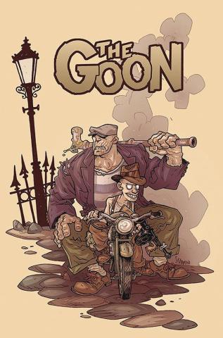 The Goon #10 (Darmini Cardstock Cover)