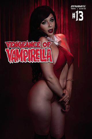 Vengeance of Vampirella #13 (Scott Cosplay Cover)