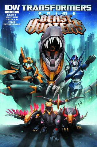 Transformers Prime: Beast Hunters #8