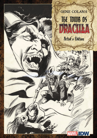 Gene Colan's The Tomb of Dracula Artist's Edition
