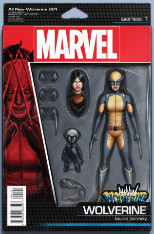 All-New Wolverine #1 (Christopher Action Figure Cover)