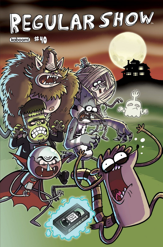 Regular Show #40 (Subscription Howell Cover)