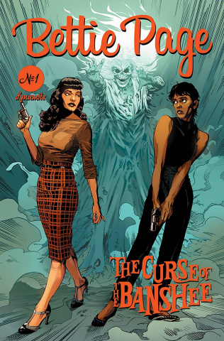 Bettie Page and The Curse of the Banshee #1 (Mooney Cover)