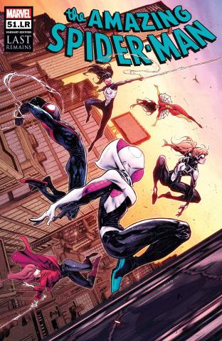 The Amazing Spider-Man #51.LR (Coello Cover)