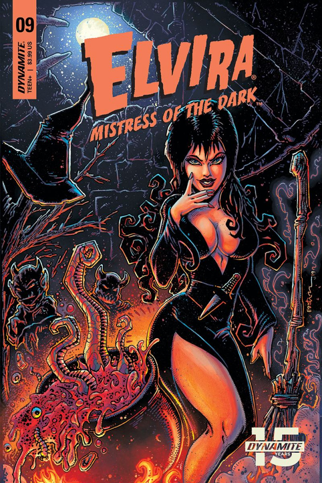 Elvira: Mistress of the Dark #9 (Eastman Cover)