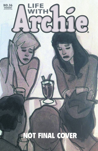 Life With Archie #36 (Adam Hughes Cover)