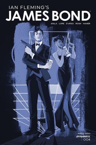 James Bond #4 (11 Copy Richardson Tint Dressed Cover)