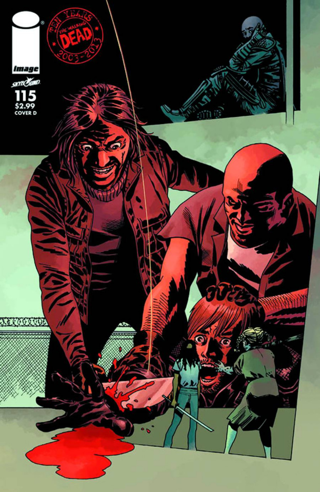 The Walking Dead #115 (Cover D)