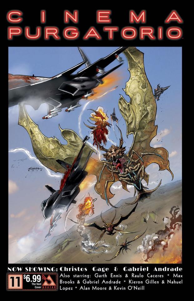 Cinema Purgatorio #11 (Vast Cover)