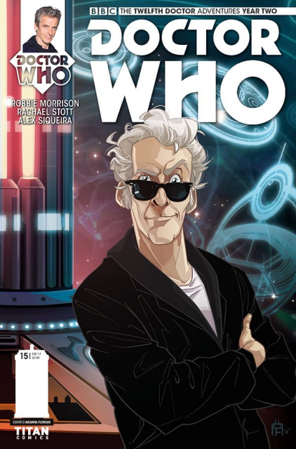 Doctor Who: New Adventures with the Twelfth Doctor, Year Two #15 (Florean Cover)