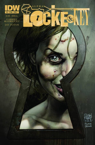 Locke & Key: Alpha #2 (Fabry Cover)