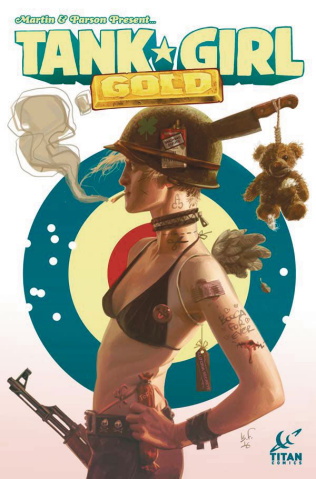 Tank Girl: Gold #1 (Black Frog Cover)