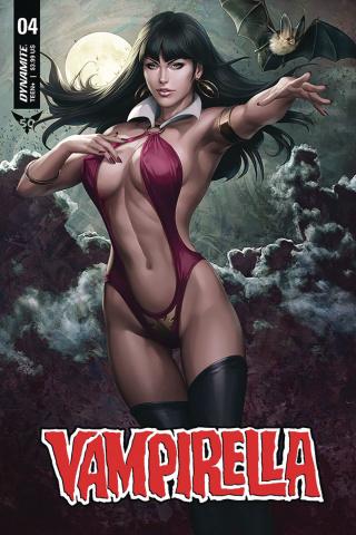 Vampirella #4 (Lau Cover)