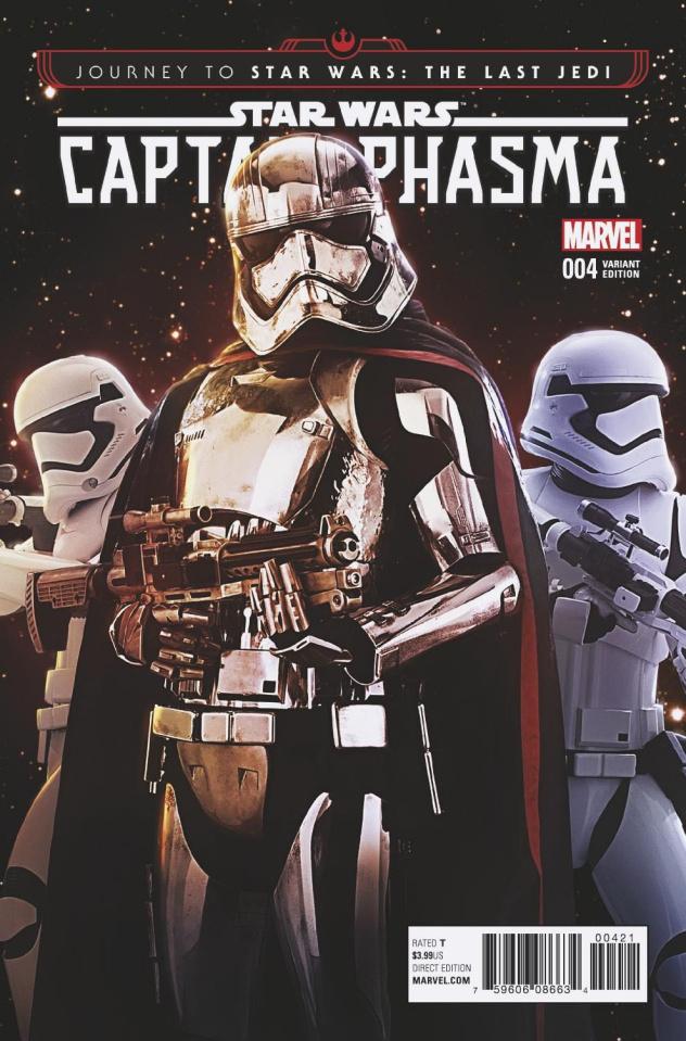 Journey to Star Wars: The Last Jedi - Captain Phasma #4 (Movie Cover)