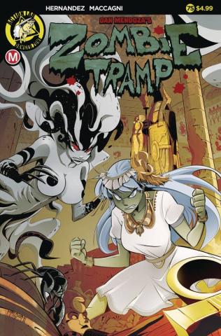 Zombie Tramp #75 (Maccagni Cover)