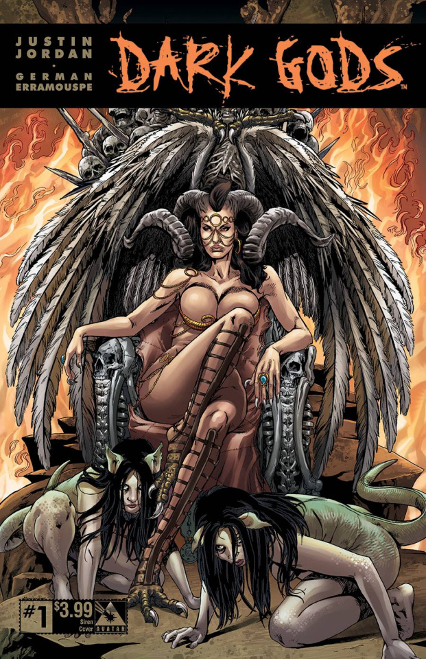 Dark Gods (Siren Cover Bag Set)