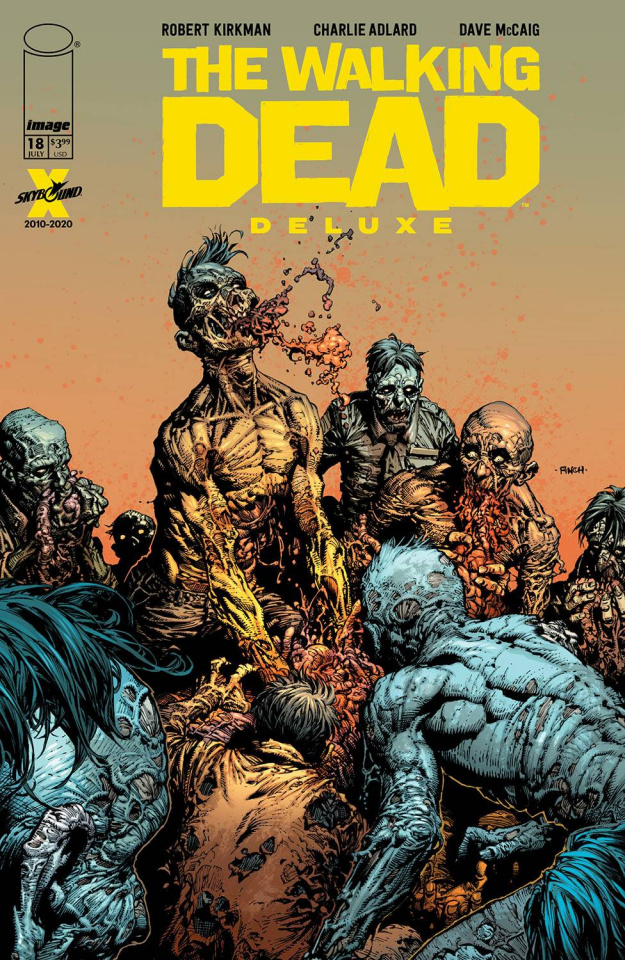 The Walking Dead Deluxe #18 (Finch & McCaig Cover)