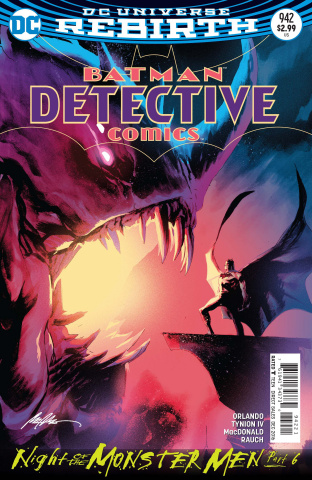 Detective Comics #942 (Monster Men Cover)